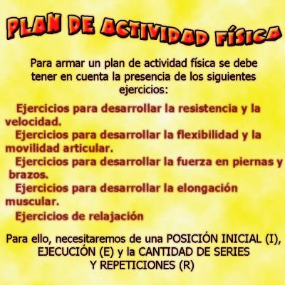 Plan de Actividad Física